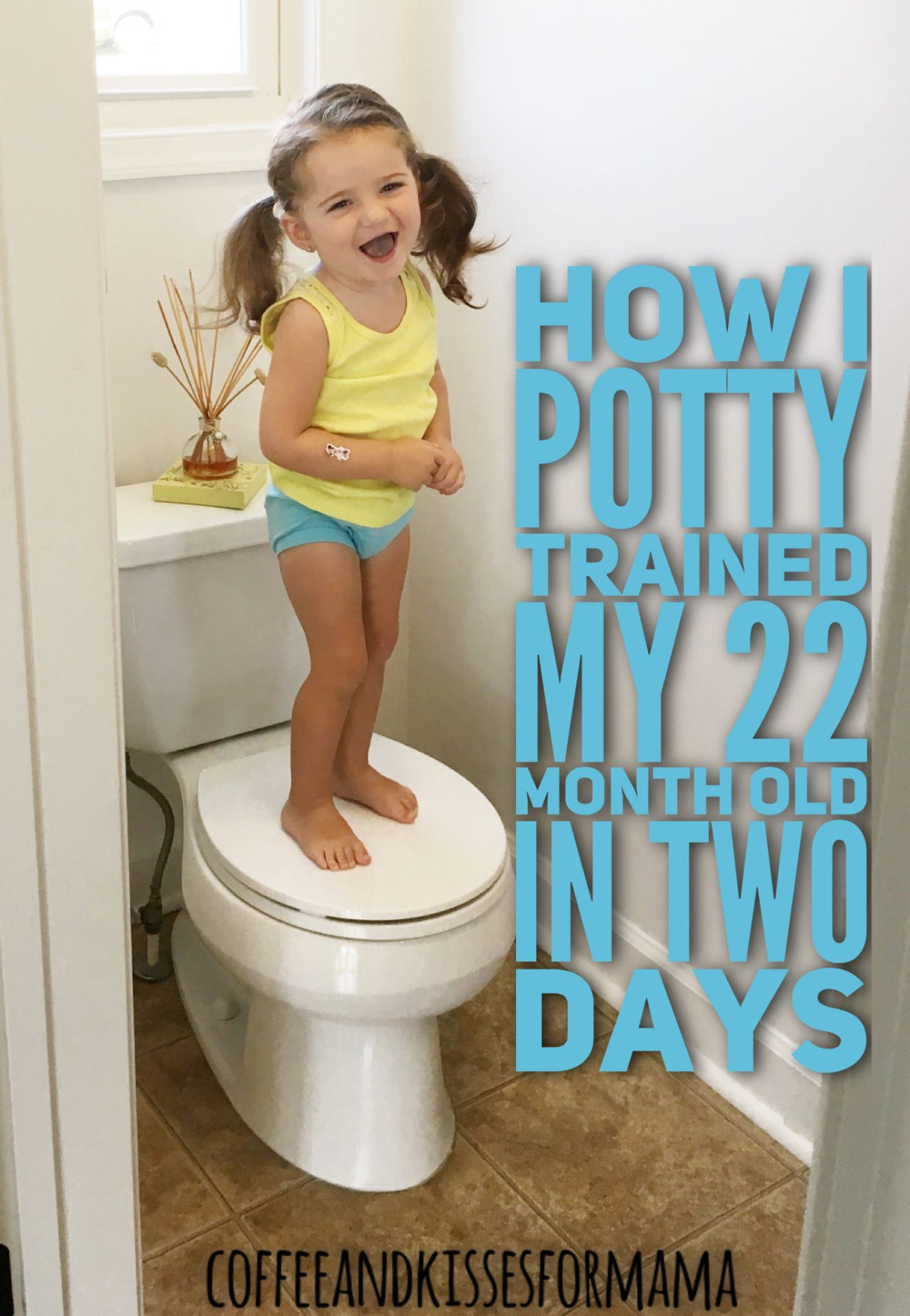How I Potty Trained My 22 Month Old In Two Days 22 Month Old
