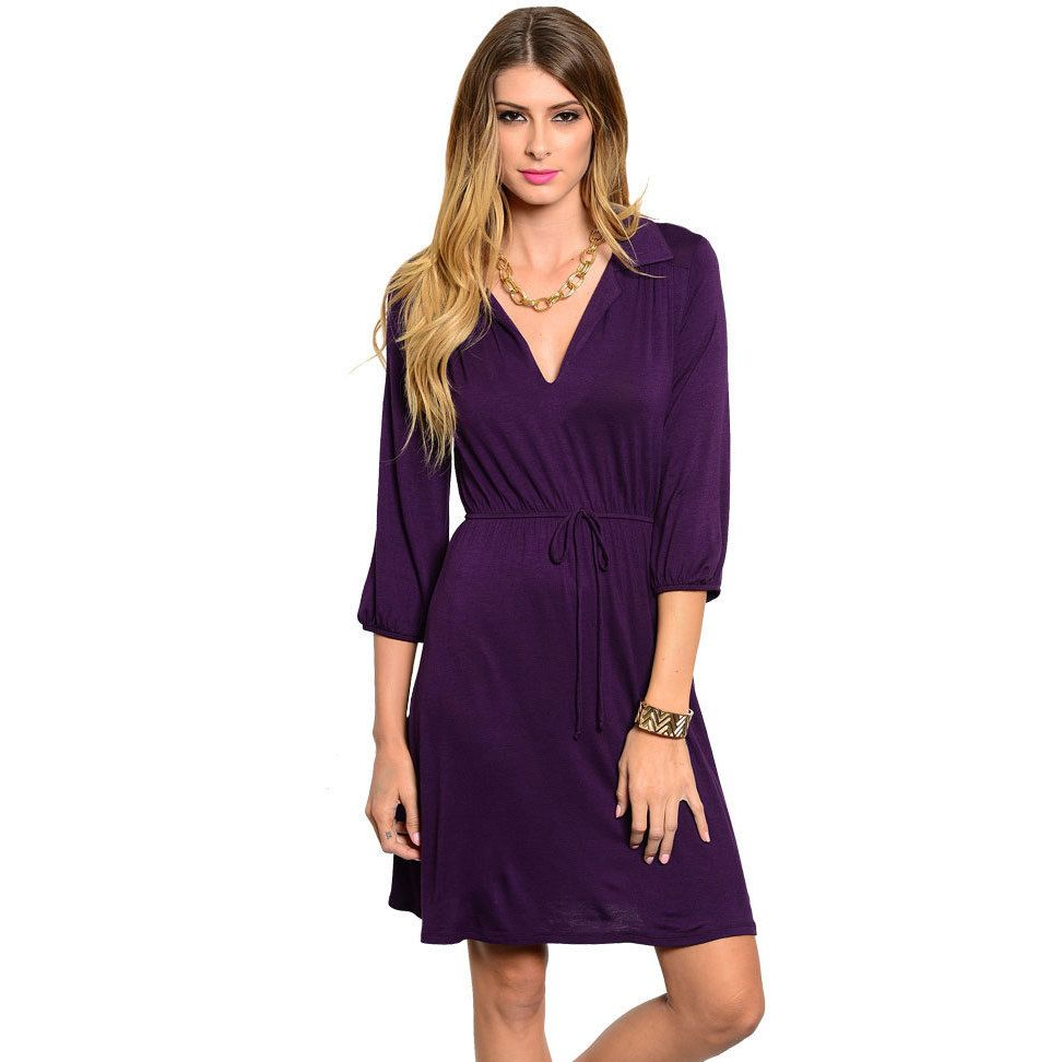 Womens Tie Sleeve Dress Simply Be