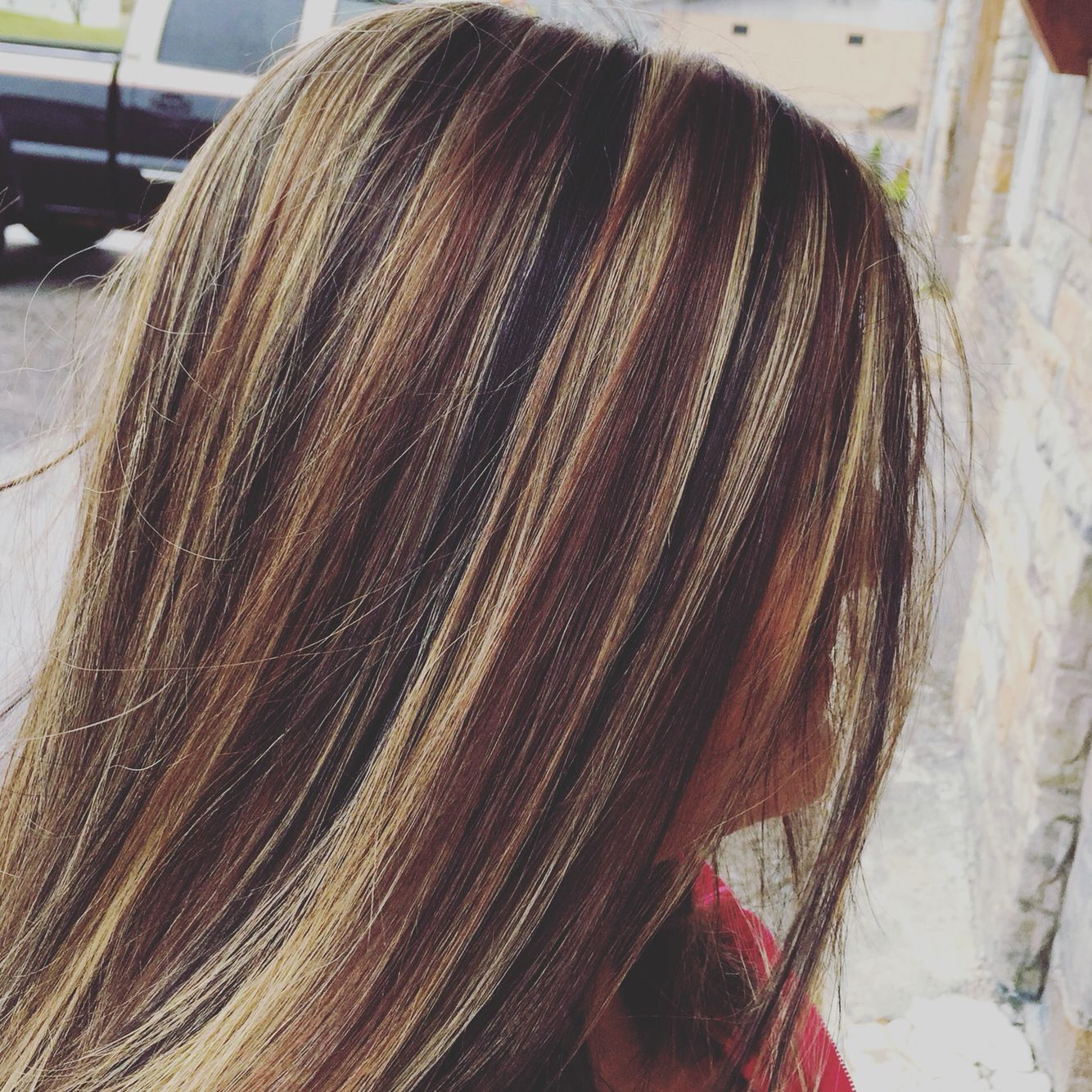 Caramel Highlights Black Lowlights Tobacco Brown Lowlights Perfect Fall Col Fall Hair Color For Brunettes Brown Hair With Highlights Black Hair With Highlights