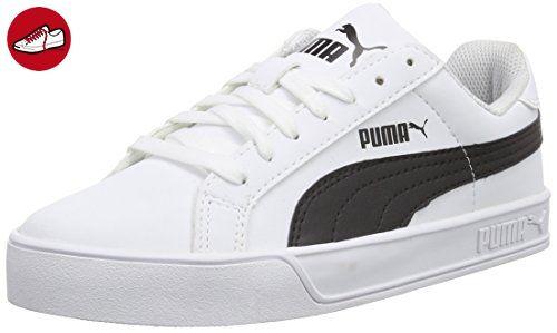 Sneakers white Puma Vulc Black Unisex Erwachsene Weiß Smash Pf7qa