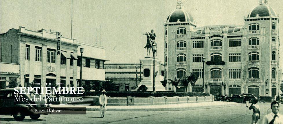 Mes del Patrimonio Plaza Bolivar Patrimonios, Plaza y