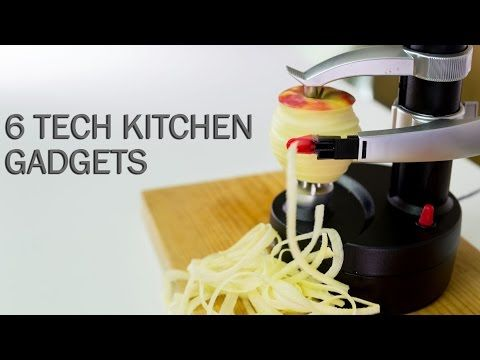 6 Tech Kitchen Gadgets - YouTube