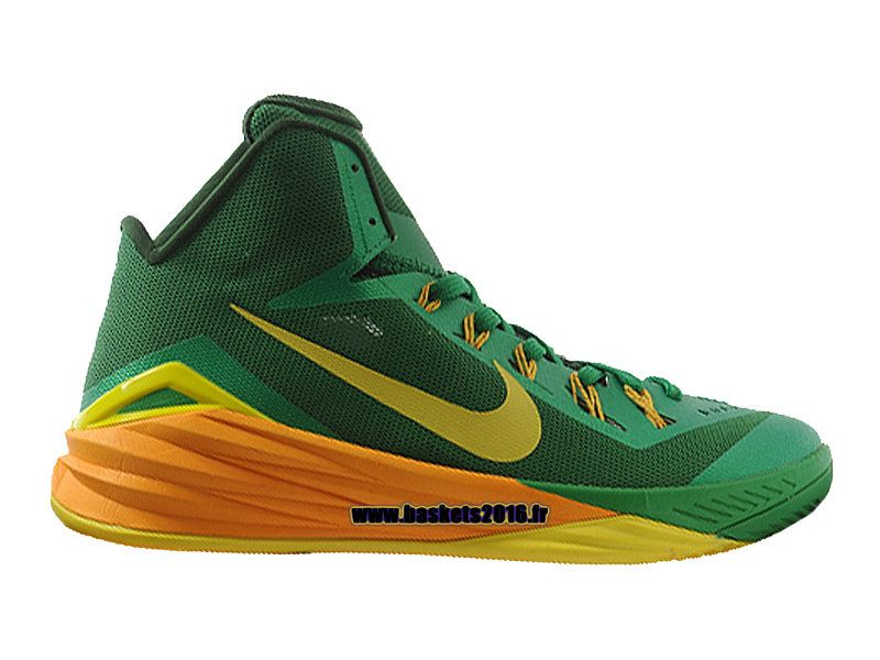 detailed look 17f37 4ba2b ... clearance nike hyperdunk 2014 brazil chaussures nike basket officiel  pour homme vert jaune 653640 373 31b14 ...