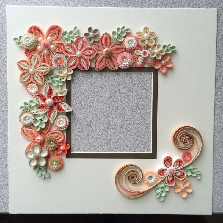 Quilling paper craft cards flowers crafts also best frames images cadre photo do rh pinterest