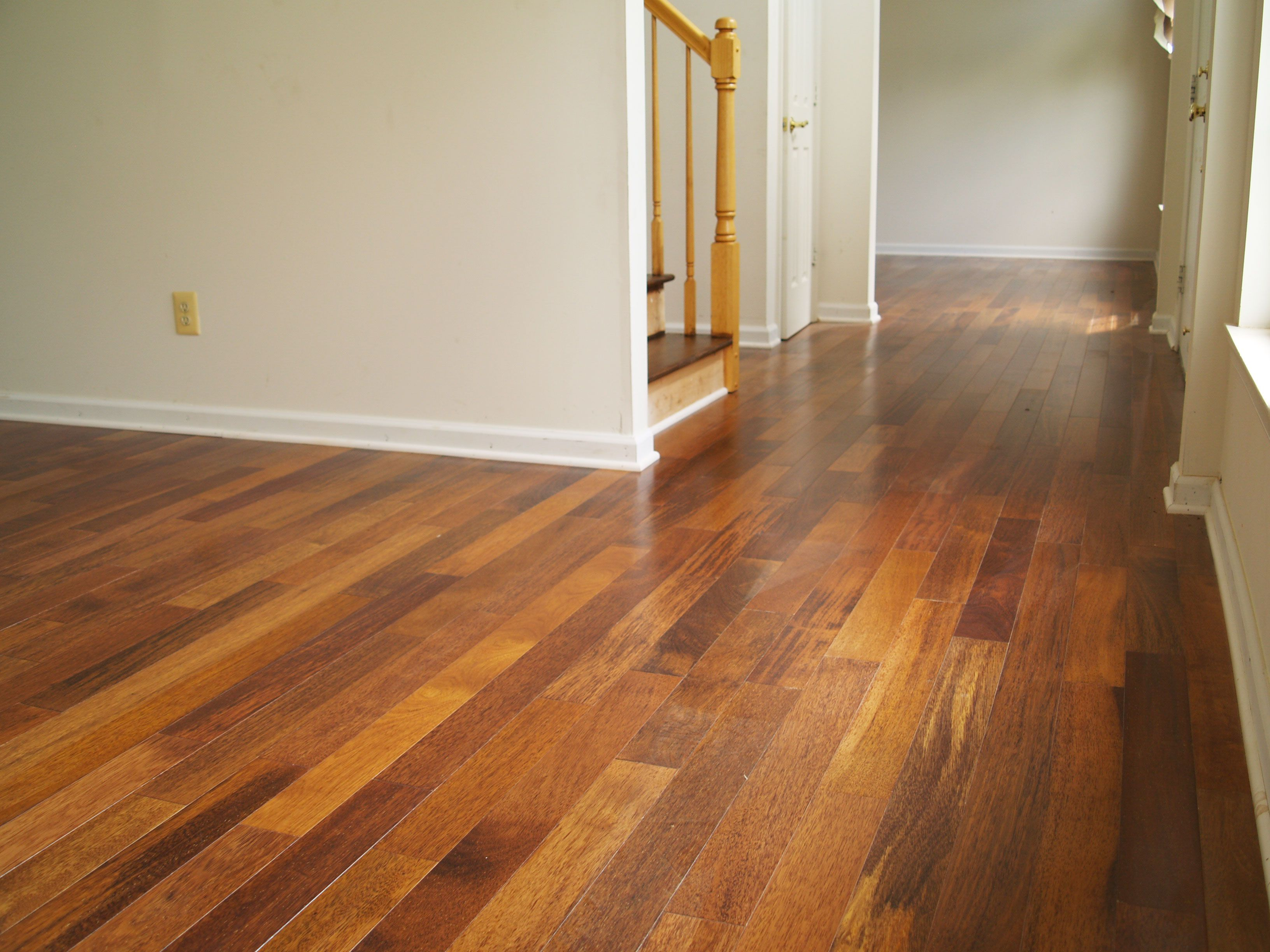 Merbau hardwood flooring. New Jersey