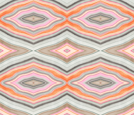 Marbled Orange fabric by pricedesigns on Spoonflower - custom fabric