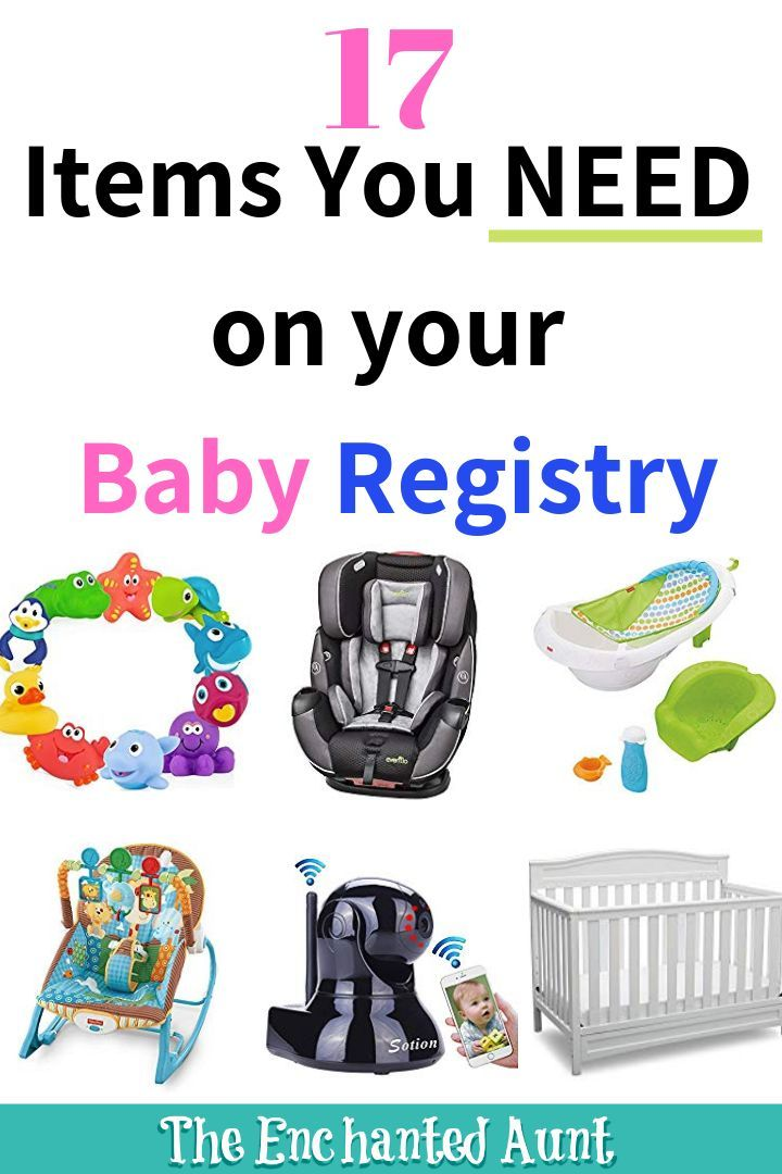 Baby Registry Must Haves For First Time Moms | Baby ...