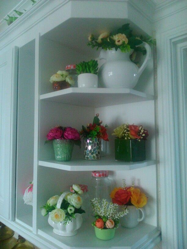 DECO ELEMENTOS, colección de mini arreglos en la cocina,ideales para Adornar la bandeja del cafe.