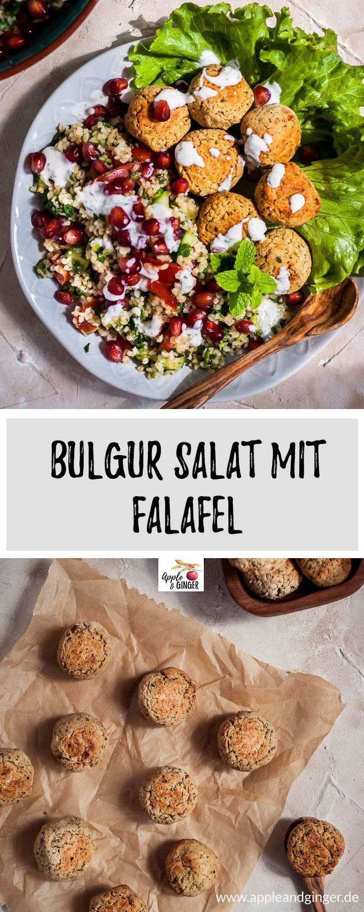 Taboulé rapide de 30 minutes avec falafel