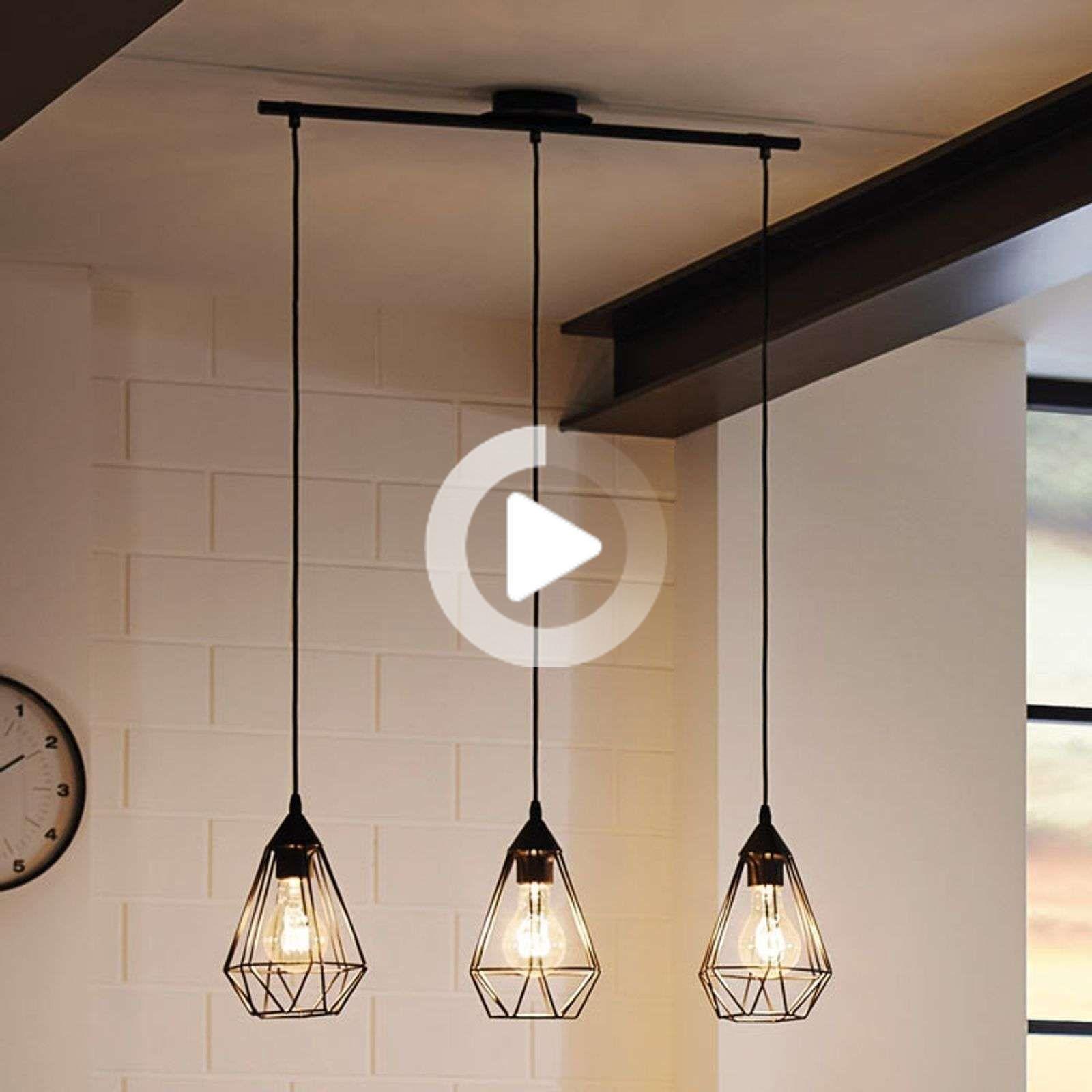 Suspension Tarbes 3 Lampes Style Vintage In 2020 Esszimmer Beleuchtung Esszimmerleuchten Industrie Leuchten