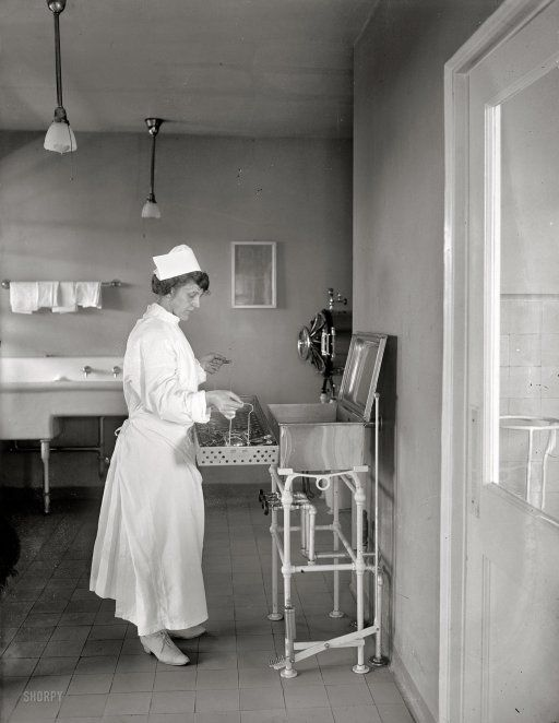 The Sterilizer: 1922.Still used these @ Milledgeville State Hospital when I went to work there in 1964.