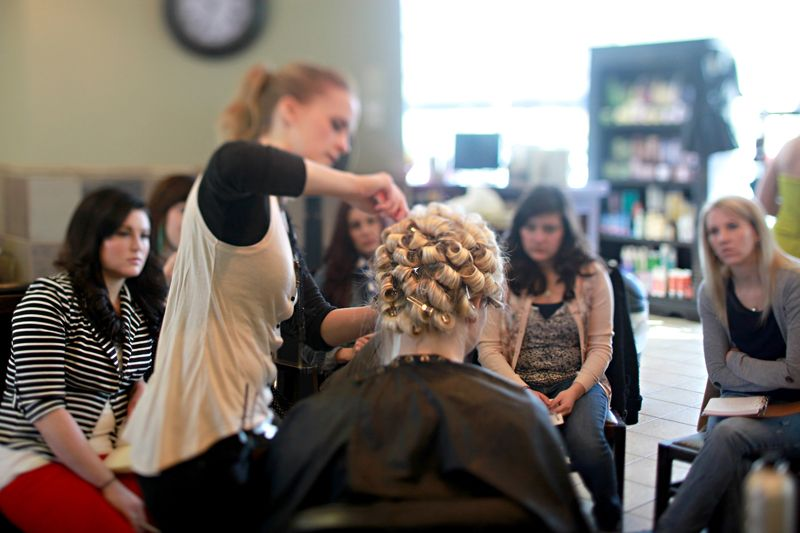 How To Join Effective Hair Styling Class In Los Angeles Hair Styles Hair Professional Hairstyles