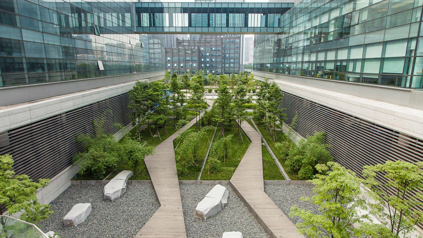 Swa symantec chengdu seri alam landscape for Swa landscape architecture
