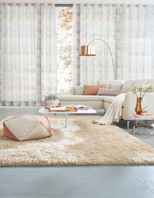Wohnzimmer Gardine Streifen ❤ Vielfältige Plissees ❤ Bezaubernde  Flächenvorhänge ❤ Liebevolle Jalousien ❤ Tolle Gardinen ❤