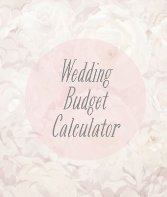 Diy Wedding Budget Calculator And Tips To Stay With The Budget  Don