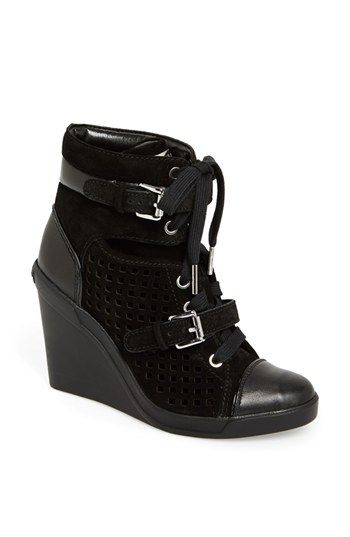 MICHAEL Michael Kors 'Skid' Wedge Sneaker available at # ...