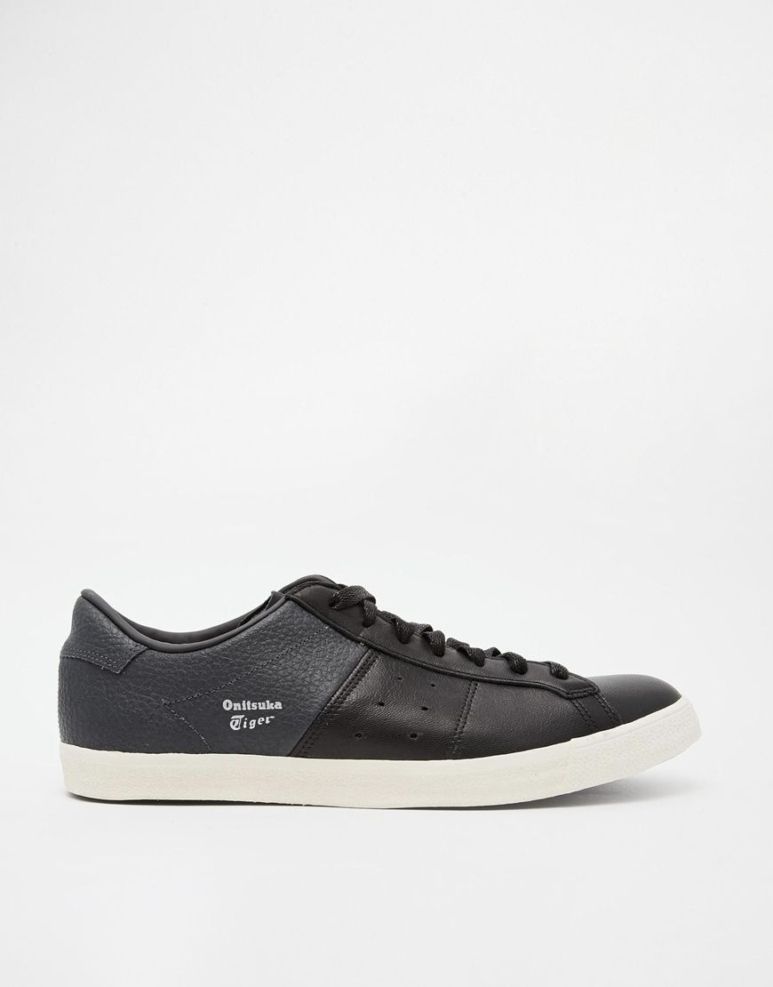 Onitsuka Tiger Lawnship Leather Sneakers at asos.com