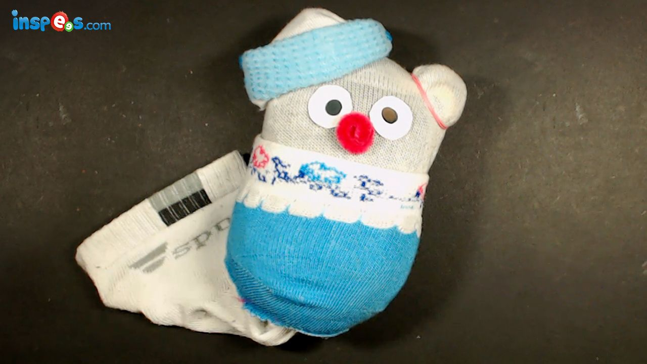 How to make sock toy? Best of waste material : Easy craft idea for ...