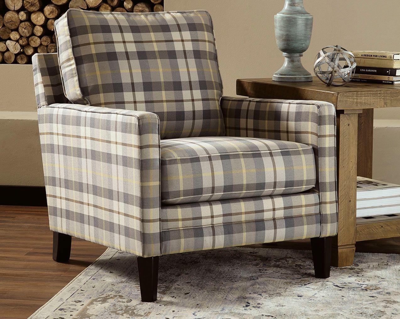Austwell Chair Slate Furniture Plaid Chair Wayfair