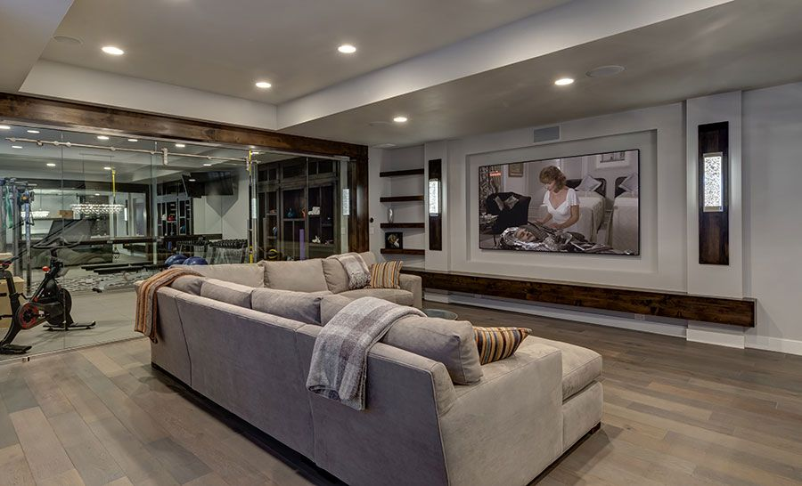 Kryptonite Dr Basement Home Theater Rooms Home Theater