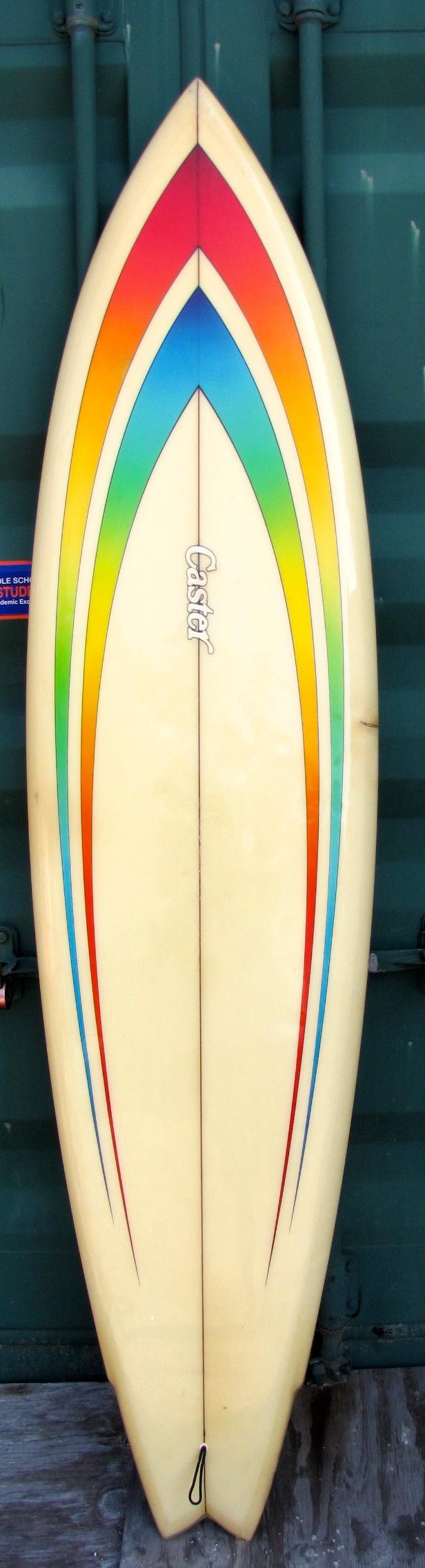 Caster Vintage Classic Single Fin 1970 S Stinger Surfboard Surfshop
