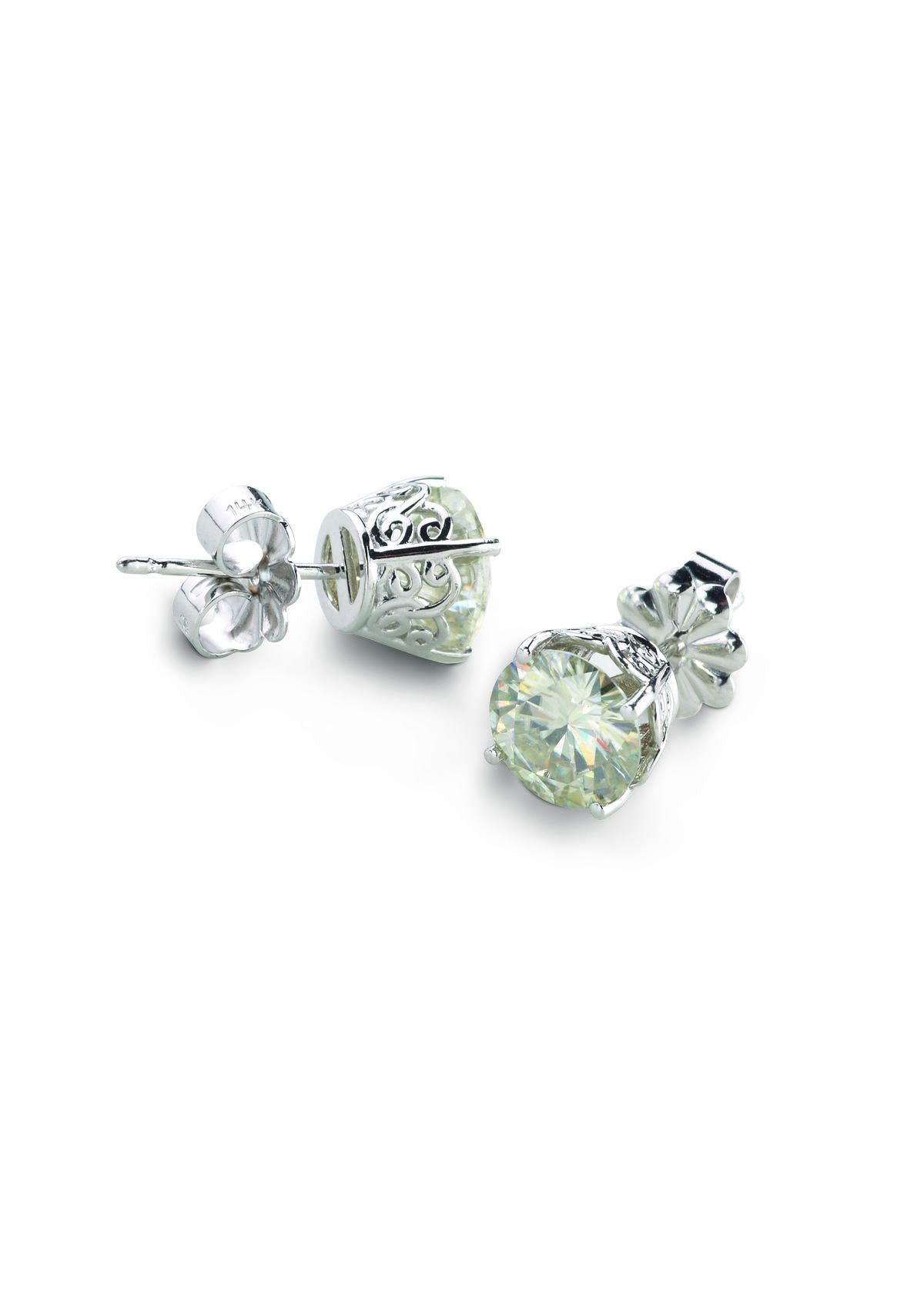 and colvard valentines diamond poshclassymom gift day moissanite ideas charles studs stud earrings