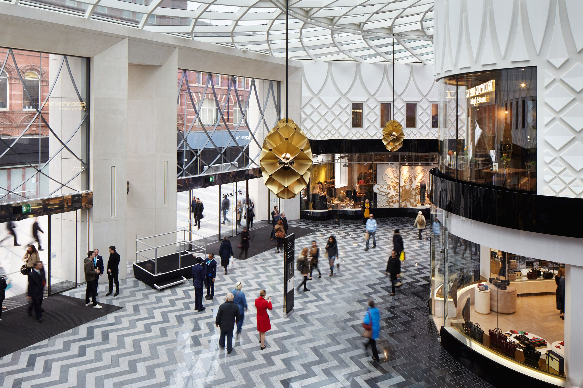 London firm Acme has completed a shopping centre in Leeds