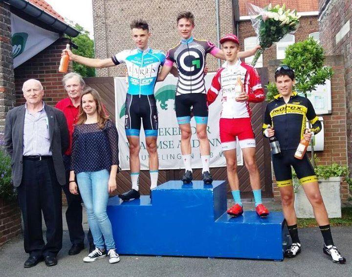 Ben Tulett racing in Belgium winning his 60km race on Sunday in 1hr 40min. Awesome Ben! - http://ift.tt/1HQJd81