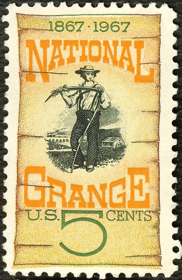 The Granger Movement STAMP Stamp, Postage stamp