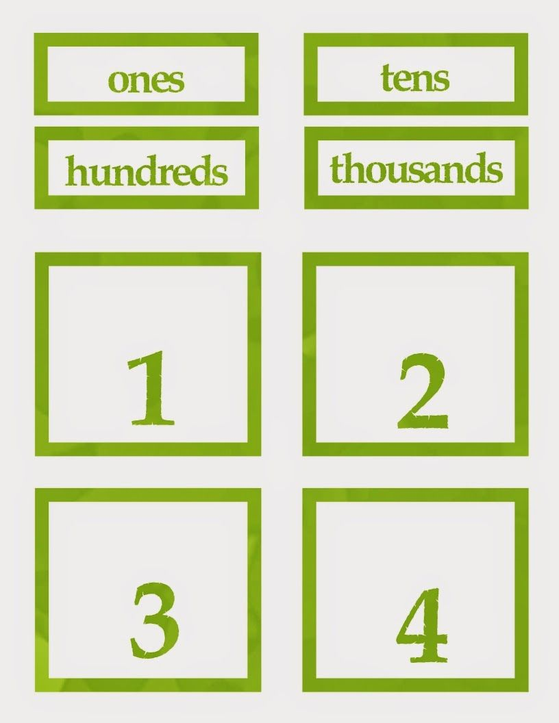 FREE Bible Time Counting Cards- encouragement to keep reading while practicing place value