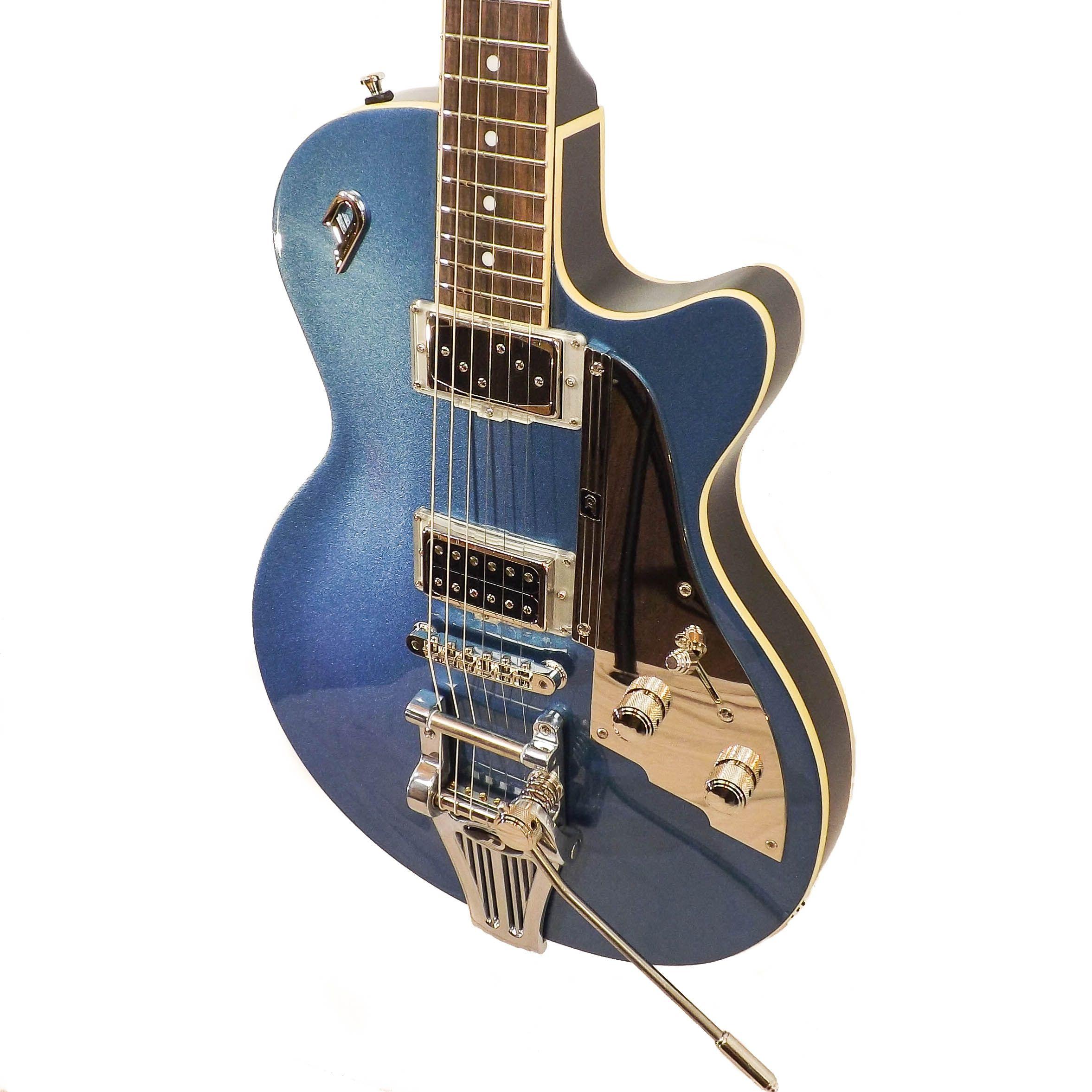 Duesenberg Starplayer TV No F Hole Catalina Blue Co UkElectric Guitars