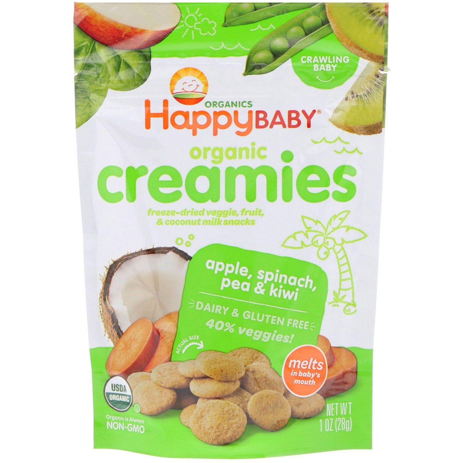 Happy Family Organics, Organic Creamies, FreezeDried