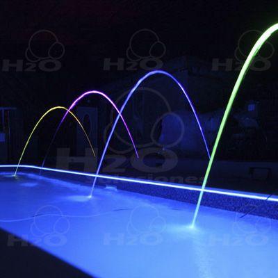 Fuentes laminar fuentes iluminadas fuentes de colores for Accesorios para piscinas cascadas