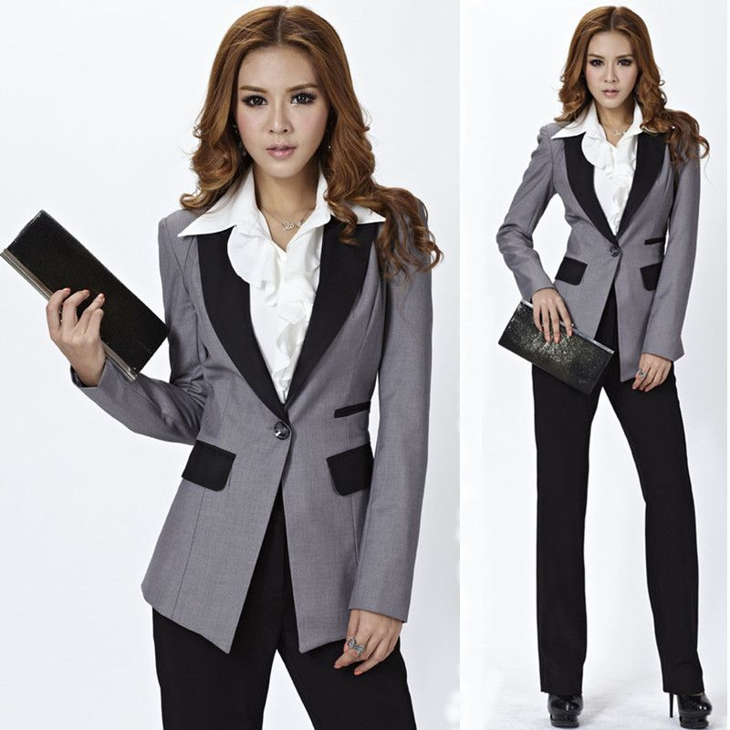 Designer Women's Business Suits | 2013 Fashion Newest Design Women ...