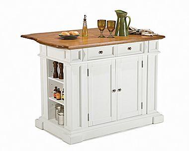 Kitchen Island Breakfast Bar Jcpenney Small White Cart