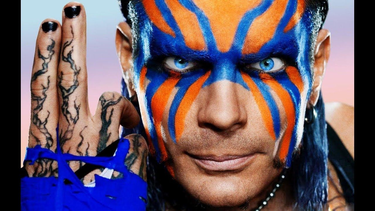 Matt Hardy WWE RAW Tag Team Extreme Rules Championship ...Jeff Hardy Wrestlemania 25 Face Paint