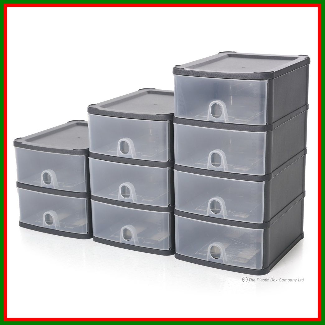 Stackable Plastic Drawers