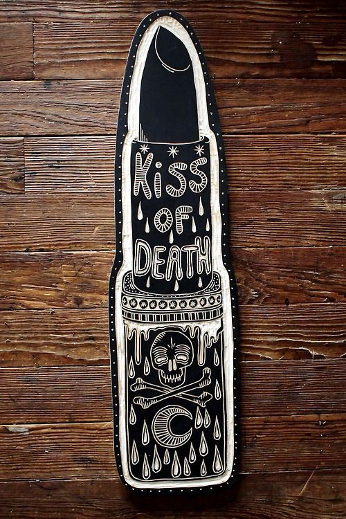 For Kiss of Death. 2013