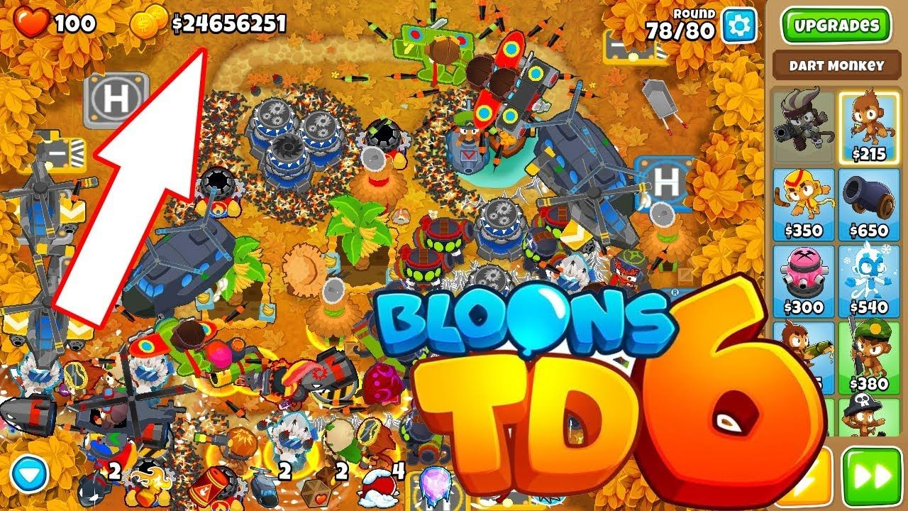 Bloons TD 6 Cheat Hack Money and Coins iOS/Android
