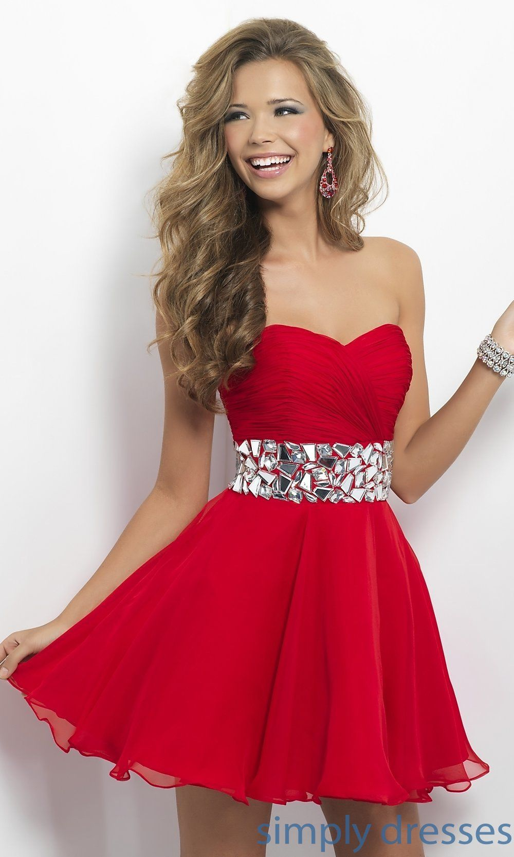 Short red prom dresses google search prom dress inspiration