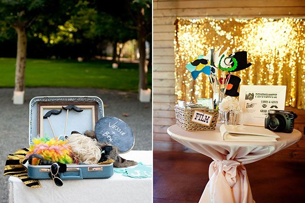 4 Great Ideas for Your Wedding Photo Booth Patrick obrian