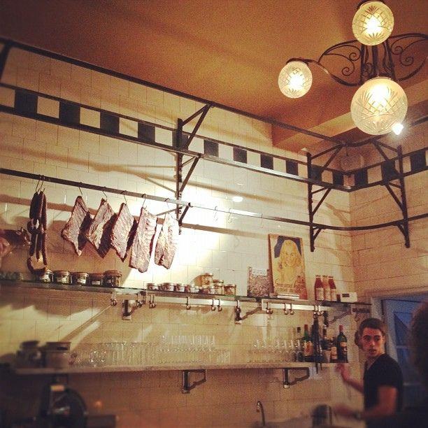 Old Butcher Shop Interior With Images Meat Shop Butcher Shop