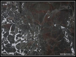 Grey Chigen Marble Wall Cladding Fireplace Surrounds Italian Marble