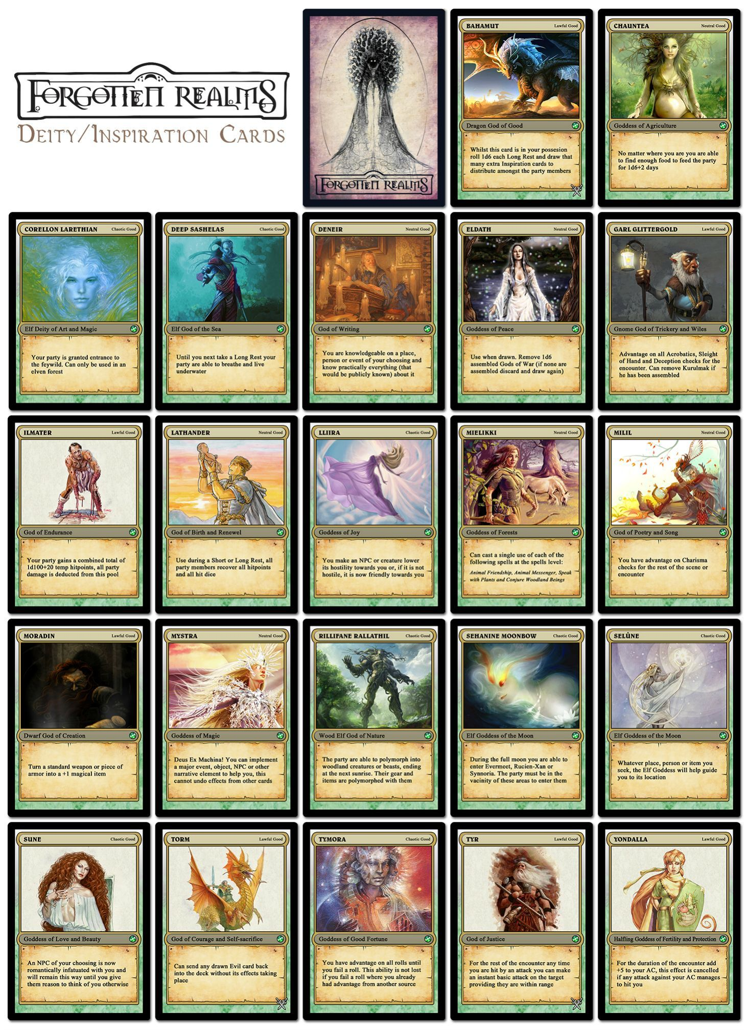 Critical image throughout d&d 5e printable monster cards