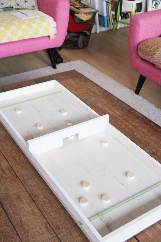 DIY de NOËL - un jeu en bois  le Passe-trappe - Tête du0027ange