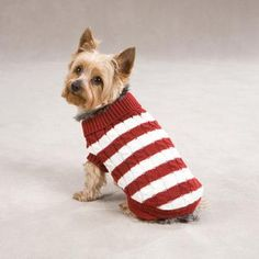 Free Dog Sweater Patterns to Knit! - Dog Lovers Gifts ...