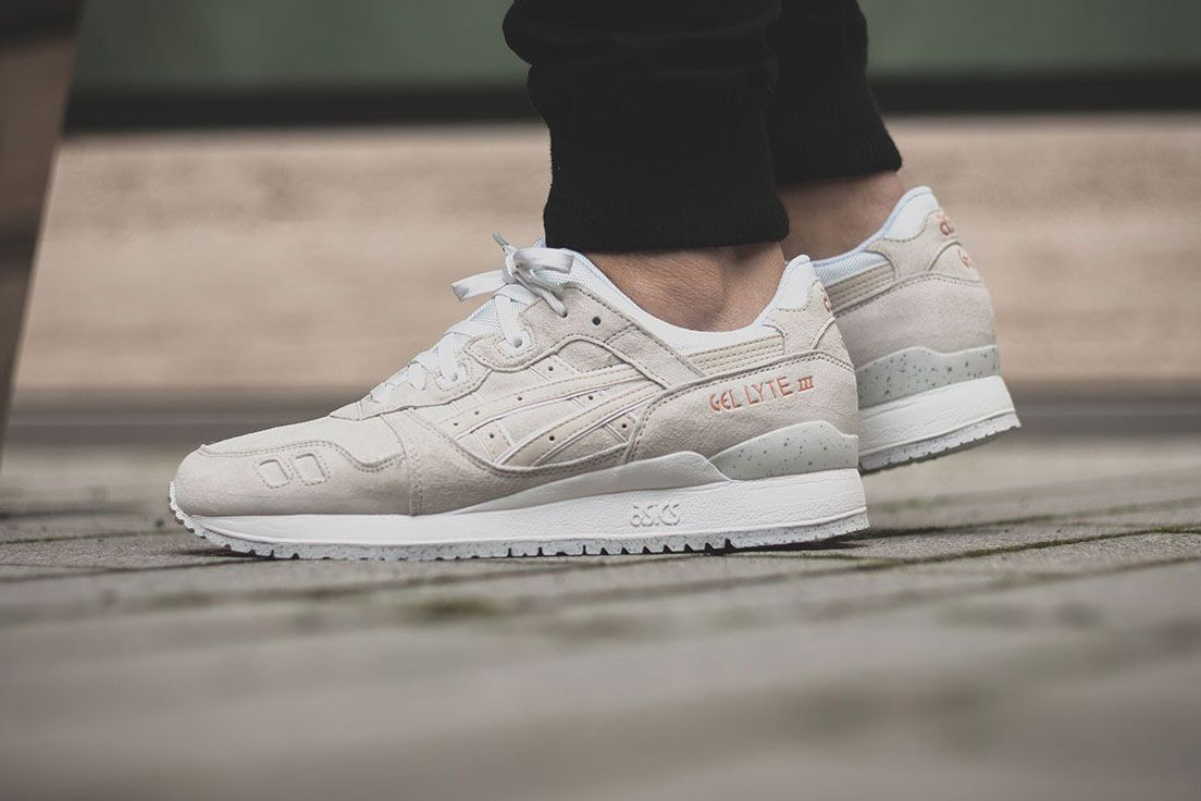 asics gel lyte iii rose gold chaussures