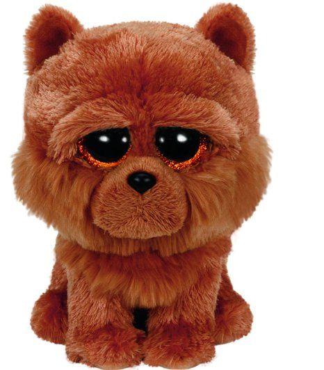 Ty Beanie Boos Barley - Brown Chow Dog 6