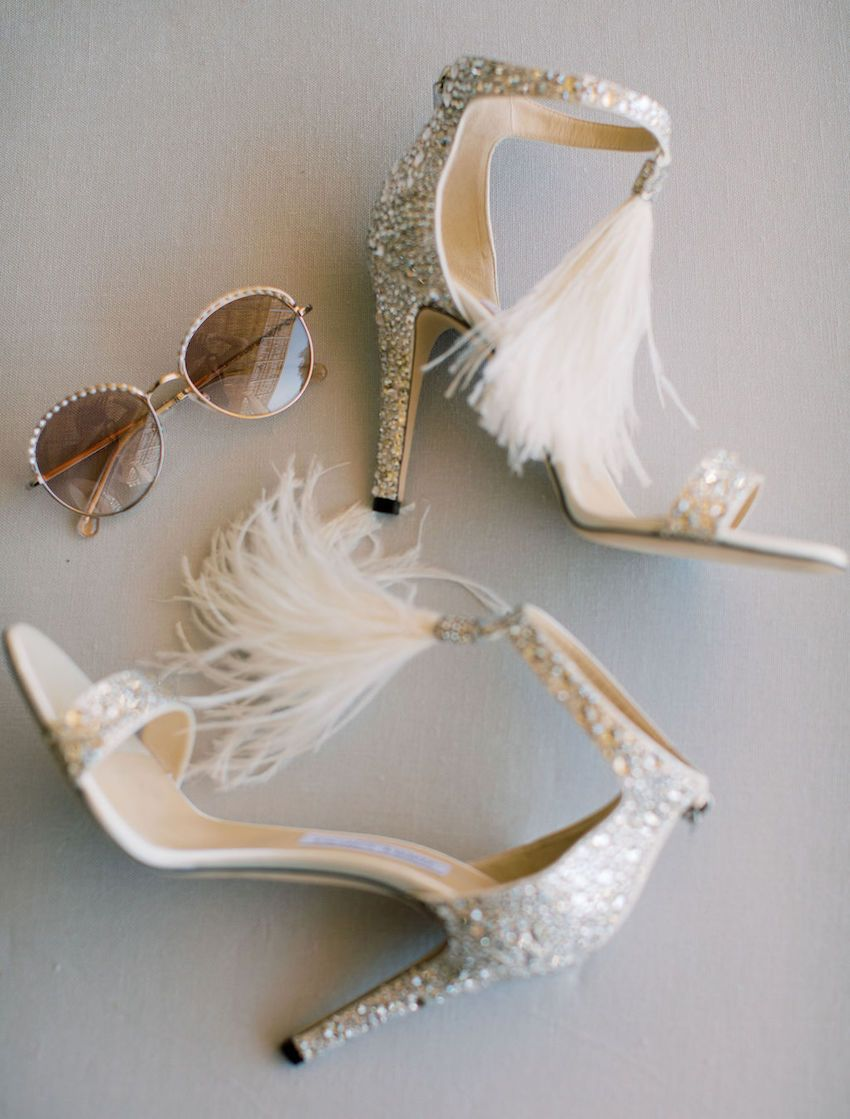 Modern Glamorous Boho Mexico Wedding at The Solaz Luxury Resort is part of Casual wedding shoes, Wedding shoes, Wedding shoes photography, Wedding shoes vintage, Wedding shoes flats, Glitter wedding shoes - This oceanfront Mexico wedding in Los Cabos is filled with breathtaking beach views, uniquely inspiring design and modern decor that doubles as art