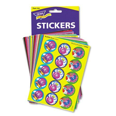 Amazon.com: Kids' Choice Stinky Stickers  Variety Pack: Office Products